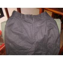 Conjunto De Pantalon Y Saco De Hilo Color Azul Marino