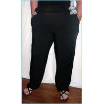 Pantalon Fibrana Liso Y Estampados Hasta Talle 62/64
