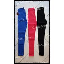 Pantalón Liso Tiro Alto Gabardina C/ Spandex - Xoara Jeans