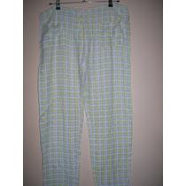 Pantalón Mujer Talle M En Fibrana