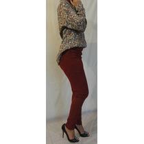 Pantalon Elastizado Chupin Mujer Calza Remera Blusa Jeans