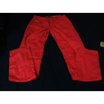 Pantalon De Gabardina Elastizado Nuevo!