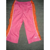 Pantalon Importado Reebok Tela Nylon Y Forro Abrigo
