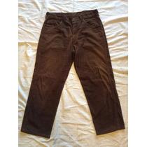 Pantalon Wrangler Corderoy Hombre 34