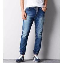 Jogger Jeans Babucha Con Puño - Stone Mistral