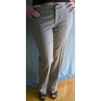 Hermoso Pantalon Vestir Vitamina Tiro Corto Talle L