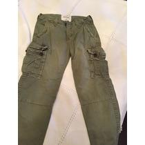 Pantalon Cargo Abercrombie Talle 12
