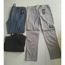 Pantalones Dama Gabardina Tipo Cargo T 48 A 58 $400