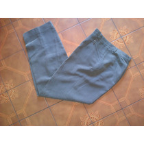 Pantalon De Vestir Mujer Tiro Alto,cierres