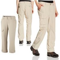 Pantalon Columbia Silver Ridge Secado Rapido Protec Uv Mujer