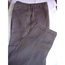 Pantalon De Vestir En Lino Banana Republic