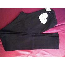 Liquido: Pantalon Algodon Negro, Grisino Talle 9/10