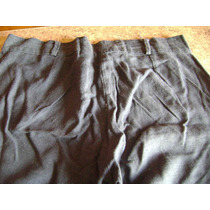 Pantalon Tipo Pescador Color Azul Sin Bolsillos Talle Chico