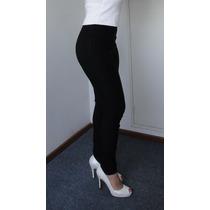 Pantalones Elastizados Chupin Colores Tipo Calzas Cierre