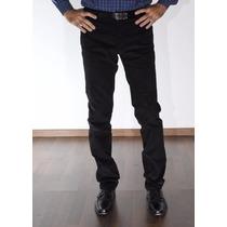 Pantalón Entallado Corderoy Con Spandex - Jean Cartier -
