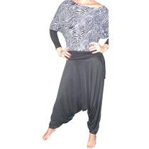 Pantalon Babucha Turca Mujer Talles Especiales Xxxxxl