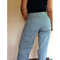 Pantalon Recto Mujer De Vestir Verano Talle 46 Impecable