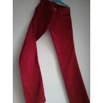 Divino!pantalón Corderoy Ossira Rojo (23)