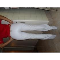 Pantalon Oxford Cuero Blanco