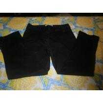 Capri Negro Jasmin Chebar T 2 Botones En Botamnga Elastizad