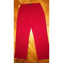 Pantalon Importado Talle 2 Rojo