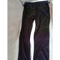 Pantalón En Chifon Ona Saez. Color Violeta(28/38)