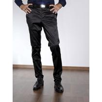 Pantalón Chupin De Raso Con Spandex- Jean Cartier