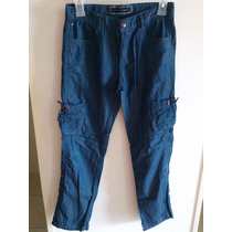 Pantalon Casual Tipo Cargo Tommy Hilfiger Talle 14 Jean