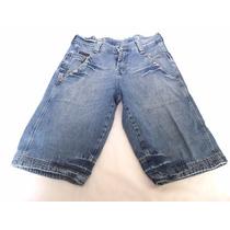 Bermuda Jeans Marca Urbano Talle M