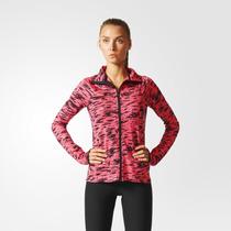 Adidas Dama Campera Climalite Cebra Fucsia Deporfan