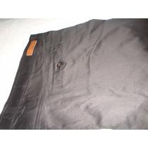 Pantalon De Gabardina Elastizada. Talle Especial