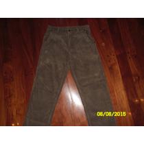 Pantalon De Corderoy Hombre - Talle S - Doo Australia