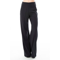 Pantalon Creppe 100% Con Cierre Lateral Tiro Medio, Activity