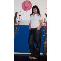 Pantalon De Eco Cuero Recto ( Fashion Psi )