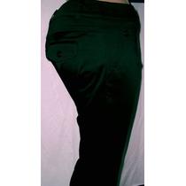 Pantalon De Vestir, Del Talle 1 Al 7 , Gabardina Elastizada