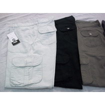 Pantalones De Gabardina Cargo Para Mujer