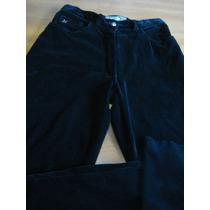 Pantalon Dama Negro Pana
