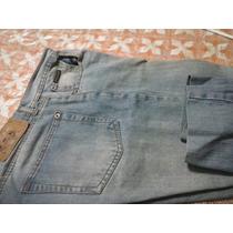 Pantalón De Jean Celeste Keviston Para Hombre