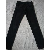 Pantalón Corderoy Elastizado Ossira Negro (25)