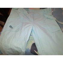 Pantalon Pescador Celeste Whoss Como Nuevo !