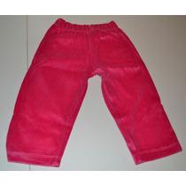 Pantalones 3 Colores Polar Y Plush 12-24 Mes Little Treasure