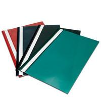 Pack X 12 Carpetas A4 Base Opaca Tapa Transparente