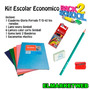 Kit / Set / Combo Escolar 5 Piezas Economico