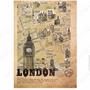 Cuaderno Universitario Diseño Paris Londres Italia 32 Hojas