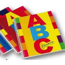 Cuaderno 21 X 27 Rivadavia Abc T/d 100 Hs Con Espiral