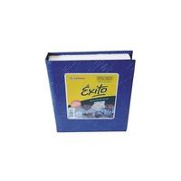 Cuaderno Exito Tapa Dura X 200 Hojas Rayadas 16x21 Cm Azul