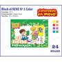 Block El Nene Color Nº 5 - Para Dibujo Acuarela Tempera
