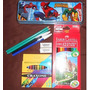 Set Escolar Economico Spiderman