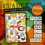 Cuaderno Universitario Personalizado - 20x28