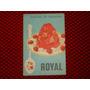 Antiguo Recetario Royal, Postres De Galatina
